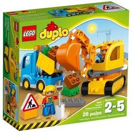 樂高LEGO DUPLO Truck  Tracked Excavator 10812 T