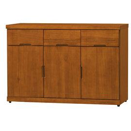 ~尚品傢俱~HY~A404~06 凱西柚木4尺餐櫃下座