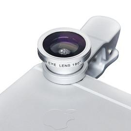 手機鏡頭廣角微距魚眼三合一套裝iPhone6p拍照單反外置攝像頭~韓風館~