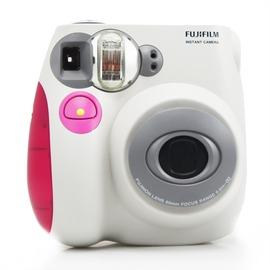富士一次成像拍立得mini7s粉藍色相機 盒套裝 立拍得~韓風館~