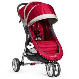 【紫貝殼●2/2 - 2/28買車免費送推車專用杯架與美國JJ Cole 寶寶身體支撐墊】『GB01-2』Baby Jogger City Mini 單人手推車(紅)