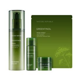 Nature Republic GREENTINOL 綠能精華液組 化妝水 乳液 面霜