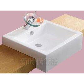 新時代衛浴  半崁式方盆 8050A