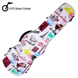 ~JYC Music~旅遊彩繪小提琴三角硬盒^~托運 僅此一個!