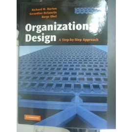 ~書寶 書T6╱財經企管_XBO~Organizational Design_Richar