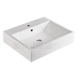 ^~新時代衛浴^~ 外銷歐洲60CM方盆,可臺上或做浴櫃,方正平整高 ,7085A