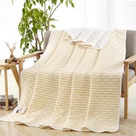針織棉質夏被可水洗空調被天竺棉兒童夏涼被單雙人薄被子~韓風館~