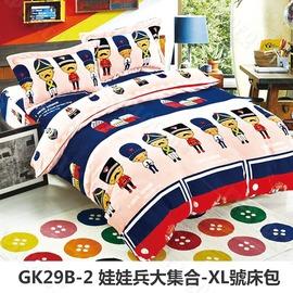 探險家露營帳篷㊣GK29B-2 娃娃兵大集合XL號床包(283x192 cm)適用努特NUIT 夢遊仙境充氣睡墊 (24035G/NTB13)