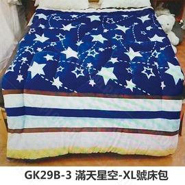 探險家露營帳篷㊣GK29B-3 滿天星空XL號床包(283x192 cm)適用努特NUIT 夢遊仙境充氣睡墊 (24035G/NTB13)