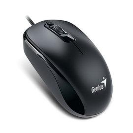 Genius DX~110有線光學滑鼠  ^(寧靜黑^)
