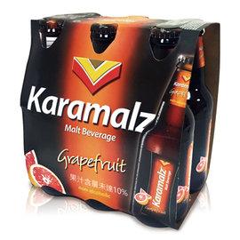 德國Karamalz 醇麥汁^(葡萄柚^)^(330ml 6入^)