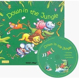 Classic Books With Holes:Down In the Jungle ^