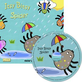 Classic Books With Holes:Itsy Bitsy Spider ^(