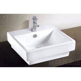 ^~新時代衛浴^~ 50cm方盆,內盆大,台上或半崁或直接做下櫃都非常 K11