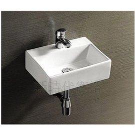 ^~ 新時代衛浴 ^~ 33^~29cm 小方盆,薄邊,可壁掛,放臺上或直接做下柜,小空間