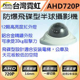 NVDU12E~PN720~L3M防爆飛碟型紅外半球攝影機