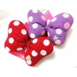 直送 Disney 迪士尼 Minnie 米妮  Daisy 黛西 立體 蝴蝶結 兩用 髮