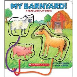 MY barnyard 農場拼圖紙板書 硬質書 寶寶書 認知書 動物書