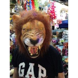 ~派對王國~萬聖節裝扮 cosplay動物面具 獅子面具 獅子頭套 獅子乳膠面具 獅子乳膠