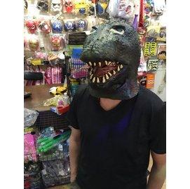 ~派對王國~萬聖節裝扮 cosplay動物面具 恐龍面具 酷斯拉面具 哥吉拉面具 恐龍乳膠