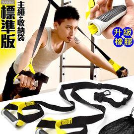 標準版懸掛式訓練帶C109-5125 (懸吊訓練繩懸掛系統.阻力繩阻力帶阻力器.拉力繩拉力帶拉力器.瑜珈伸展帶核心抗阻力鍛煉抗力帶TRX-1)