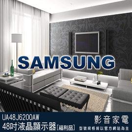 ~e~man~SAMSUNG三星 48吋FHD平面LED電視^(UA48J6200AW^)