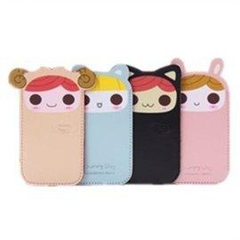 日韓PU皮 可愛蘿莉 iphone4/4s iphone5 手機套/手機袋/保護套/皮套 [ABO-00125]