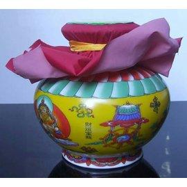 敏珠林寺財神寶瓶 財運寶瓶
