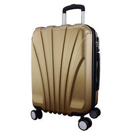 WALLABY 袋鼠牌~ 20吋 貝殼行李箱 香檳金 HTX~1604~20V