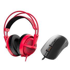 ^~硬派精璽^~ SteelSeries 西伯利亞 200耳機麥克風^|紅色 送Rival