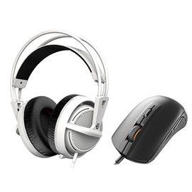 ^~硬派精璽^~ SteelSeries 西伯利亞 200耳機麥克風^|白色 送Rival