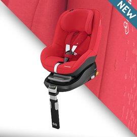『GCB01-1+GCA02』2016年最新 荷蘭 Maxi-Cosi Pearl 汽車安全座椅【條紋紅】+ Maxi-cosi FamilyFix 智慧型汽座底座 組合