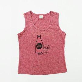 ~捷比 ~米雅星~JSD22609~塗鴉瓶子與馬克杯圖案無袖背心上衣