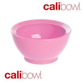 【紫貝殼】『DBA23-2』【美國 CaliBowl】專利防漏防滑幼兒學習碗(單入無蓋) 8oz -粉色【保證原廠公司貨】