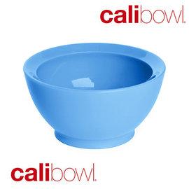 【紫貝殼】『DBA23-3』【美國 CaliBowl】專利防漏防滑幼兒學習碗(單入無蓋) 8oz -藍色【保證原廠公司貨】