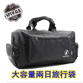 旅行袋 GRENADE 加厚高單尼龍附長肩帶兩日手提斜肩背旅行袋 NO:G010