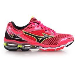 MIZUNO WAVE CREATION 18 女慢跑鞋(免運 路跑 美津濃【02015658】≡排汗專家≡