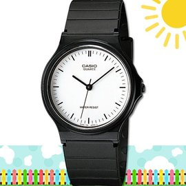 CASIO 時計屋 卡西歐手錶 MQ~24~7E 學生錶 中性錶 指針錶 膠質錶帶 款式