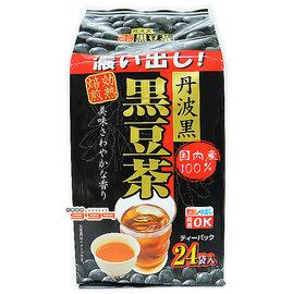 【吉嘉食品】日本長谷川 丹波黑豆茶(24入) 1包144公克175元,另售青仁黑豆粉{4976669023451:1}