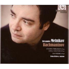 HMC901978 梅尼可夫 拉赫曼尼諾夫:音畫練習曲 6首詩歌 柯列里變奏曲 Melni