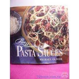 ~企鵝 T_英文原文書_A32935A~Five Minute^(Pasta Sauc