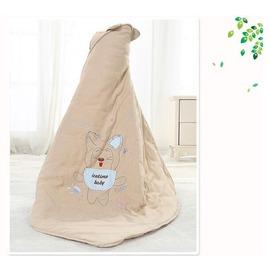棉質寶寶包被 彩棉新生兒 加厚抱毯繈褓包巾用品春秋款~韓風館~
