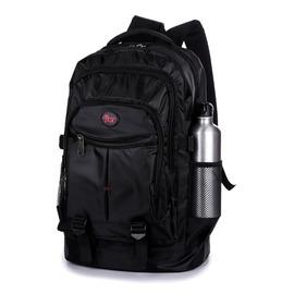 男士雙肩包男背包女 潮高中學生書包休閒電腦包登山旅行包~韓風館~