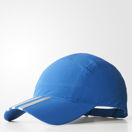 Adidas~CLIMAlite系列 輕量 清涼 透氣 慢跑 路跑帽-寶藍 (AJ9691)