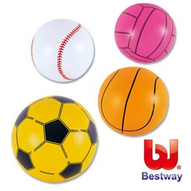 【安琪兒】【Bestway】16吋運動水球/沙灘球/充氣球