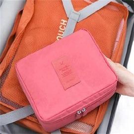 旅行收納整理包防水洗漱包化妝包多 旅遊日用品包中包