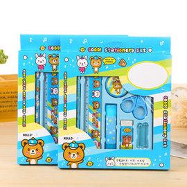 免 ~買窩 兒童 ~兒童文具系列~文具 8件 裝 文具組 鉛筆盒 開學用品 兒童節 兒童獎