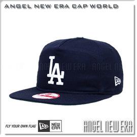~ANGEL NEW ERA ~MLB 洛杉磯道奇LA 50周年復古款式 老帽 深藍白字