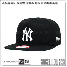 ~ANGEL NEW ERA ~MLB 紐約洋基 NY 50周年復古款式 老帽 黑白字 S
