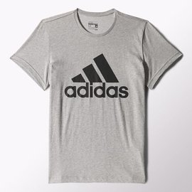 Adidas~ ClimaLite系列  棉質 短T恤-灰 (S23016)